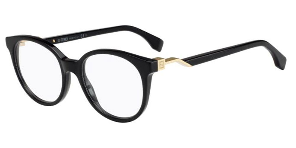 Fendi FENDI CUBE FF 0202 BLACK Damenbrillen AUTHENTISCHE Brillen   eBay